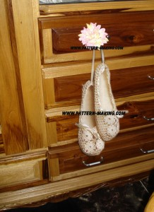 Bridal Crochet Slippers-1