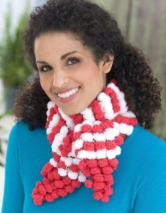 Candy Cane Scarf-1