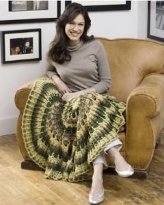 Crochet Circle Lapghan-1