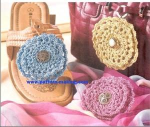 Crochet Flower-pins-1