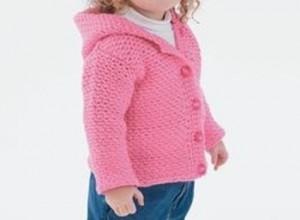 Crochet Toddler Hoodie-1