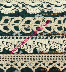 Fancy Crochet Edgings-1