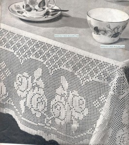 Filet Tablecloth-2