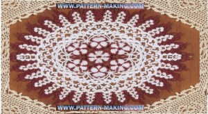 Flower Crochet Doily-1