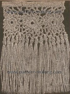 Fringes with Crocheted Heading-1