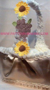 Grape & Sunflower Basket Tie-Ons-1