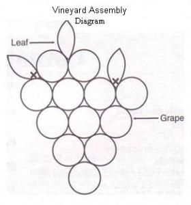 Grape & Sunflower Basket Tie-Ons-2