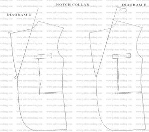 How to Draft Men Notch Collar-5