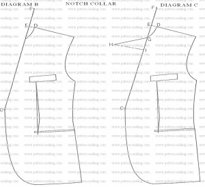 How to Draft Men Notch Collar-9