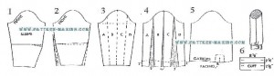 How to Grade Blouse Sleeve-1