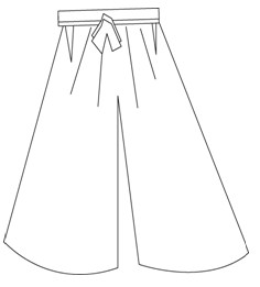 How to make Hakama-1