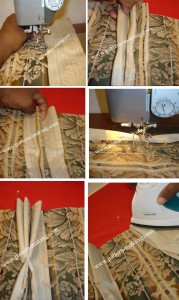 Making French pleats-1