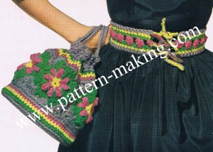 Motif Bag and Belt-1