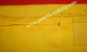 Sewing Straight Skirt WaistBand-3
