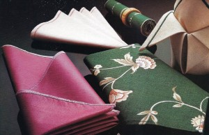 Six ways to make and hem napkins-1