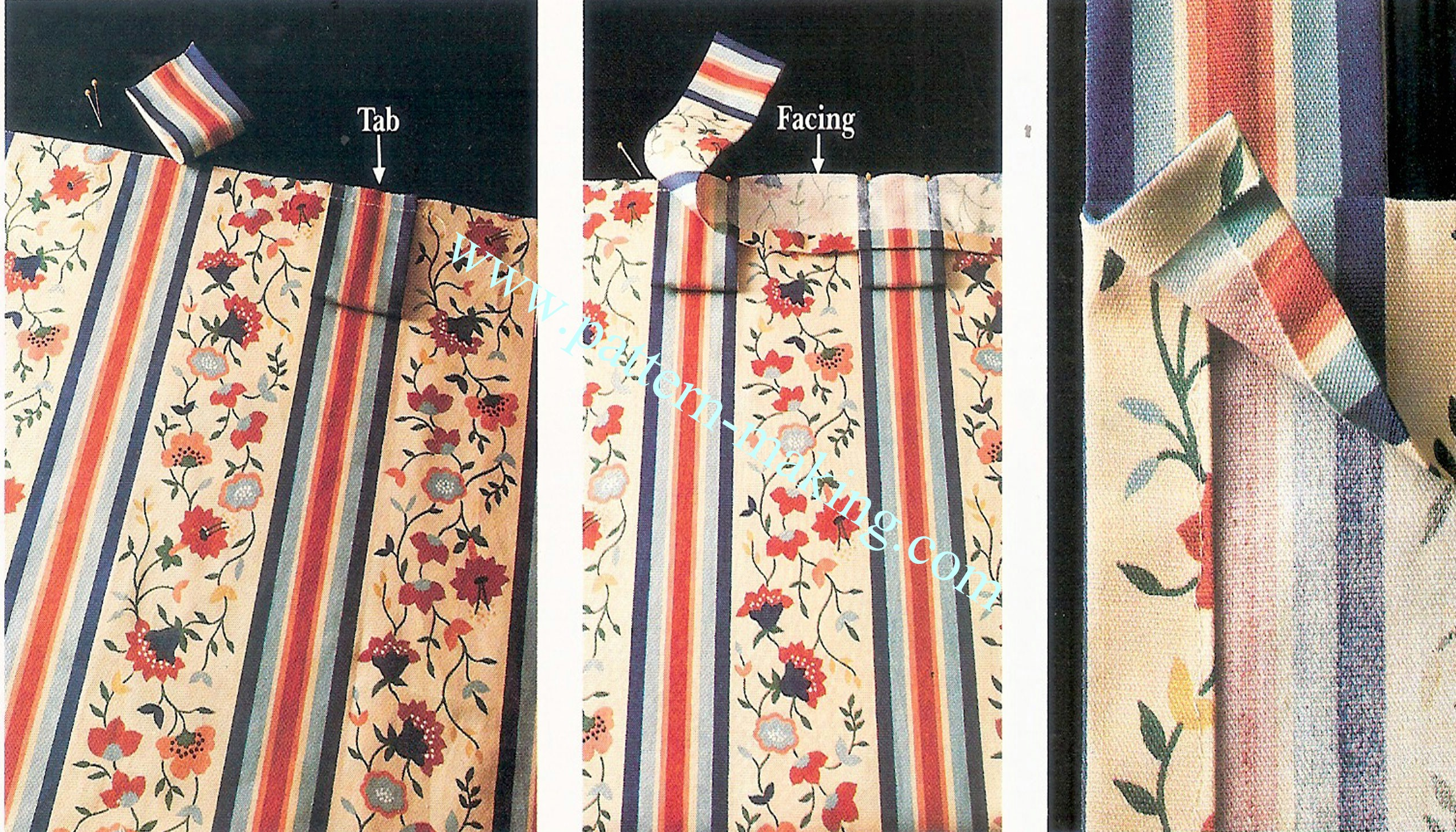 Making Tab Top Curtains Window Curtains Drapes