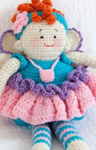 Tooth Fairy Doll Crochet Pattern-1