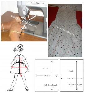 Tube top Summer dress-1