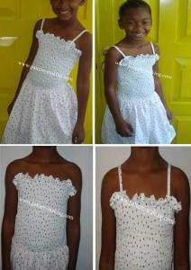 Tube top Summer dress-4