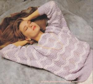 Wavy Reflection- Sweater-1