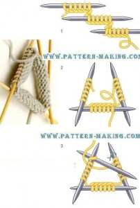 Working With Four Needles-1