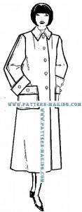 coat flared-6