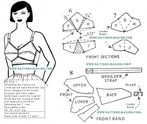 draft bra pattern-4