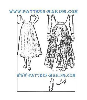 draft circular skirt-1