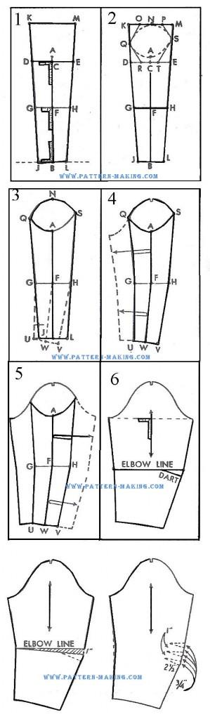 draft onepiece dress sleeve-2