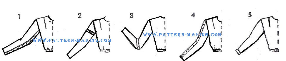 draft onepiece dress sleeve-3