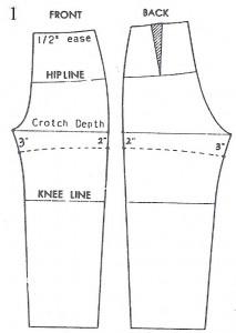 draft shorts pattern-1