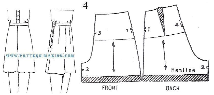 draft shorts pattern-3