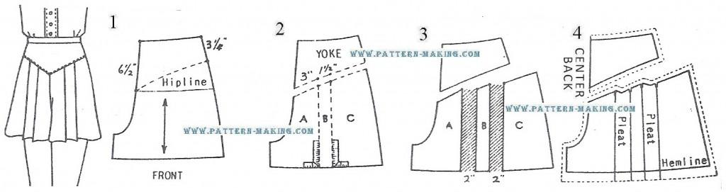 draft shorts pattern-4