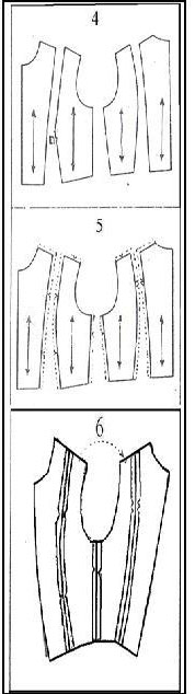fitted bodices styles 1-5
