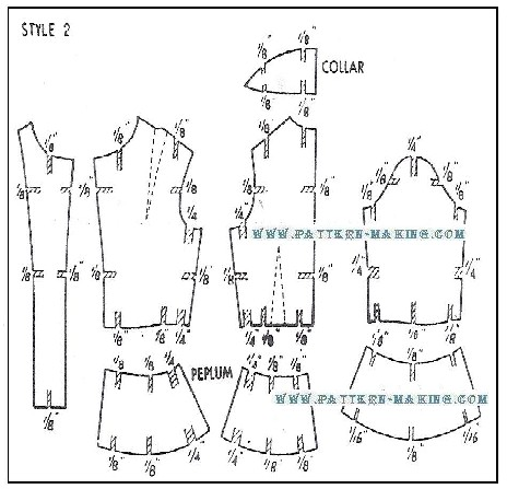 How To Grade Jacket And Coat Pattern Making Com