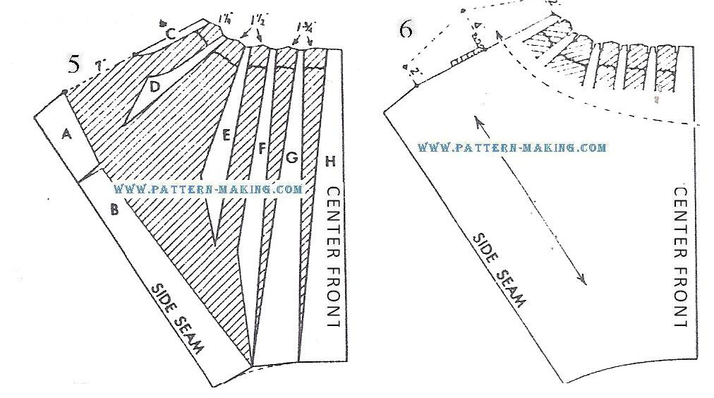 pegtop skirt drafting-4
